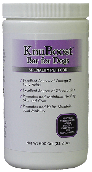 specialty pet food in container knuboost