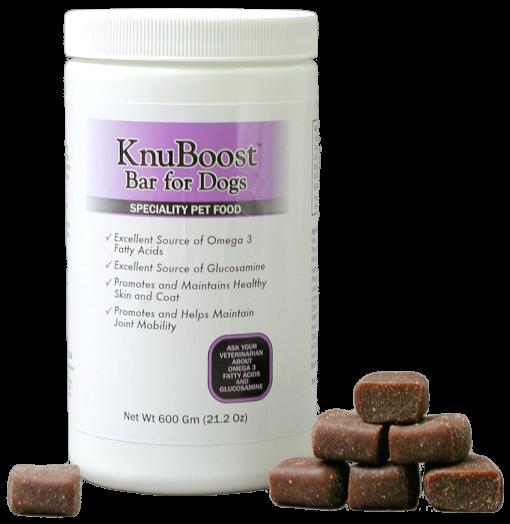 KnuBoost Bottle with Treats