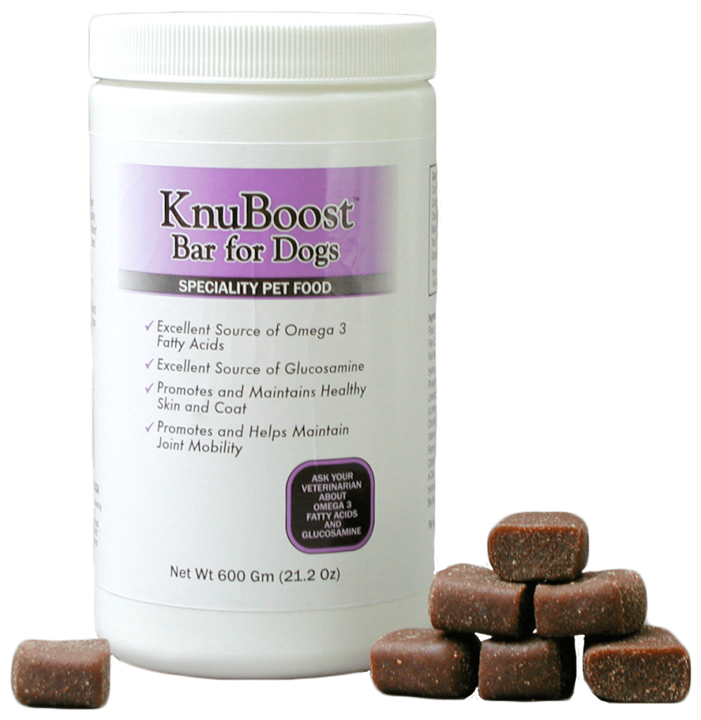 KnuBoost Bottle with Treats