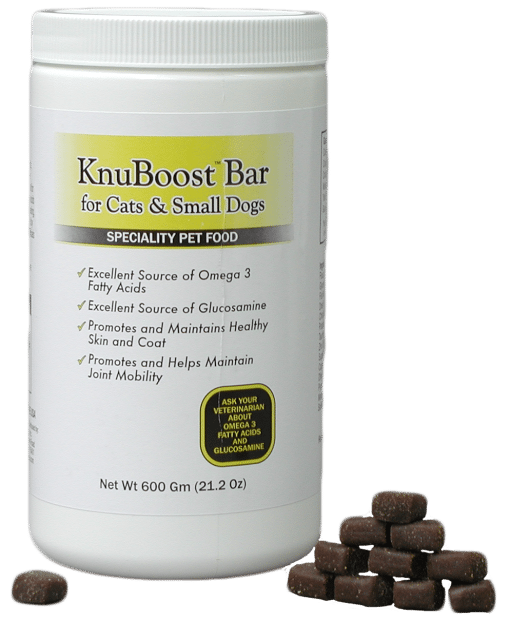 KnuBoost bars cats and Dogs with Treats
