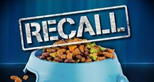 Natural Life Pet Products Recall in Georgia, Florida, Alabama, North Carolina, South Carolina, Tennessee, Virginia and California.